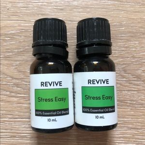 """Revive aromatherapy oils in """"stress easy"""""""